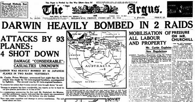 Melbourne Argus, 24 February 1942 worldwartwo.filminspector.com