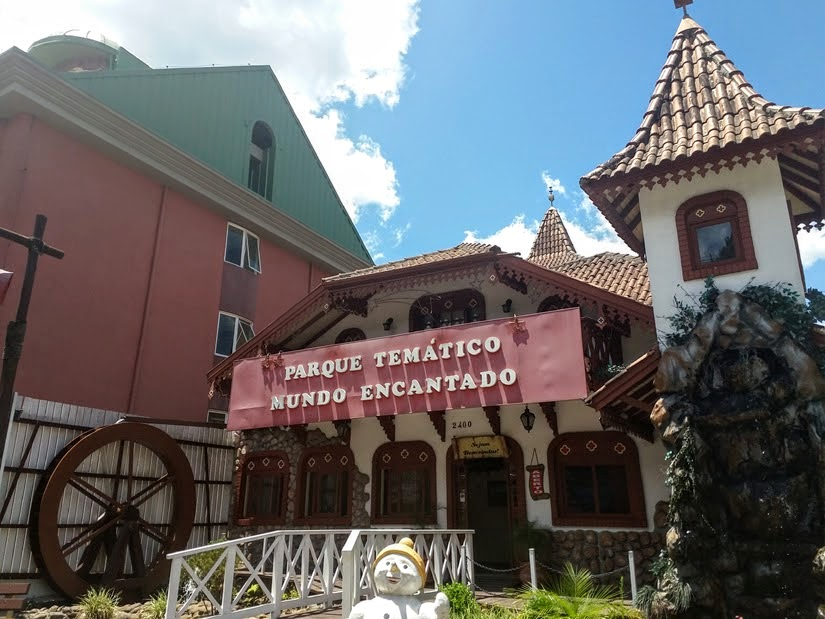 Gramado (RS) - miniaturas do Mundo Encantado