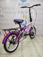 Sepeda Lipat Regazza Classic 16 Inci
