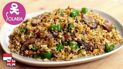 Resep Nasi Goreng Ala Restoran Solaria [Versi Praktis]