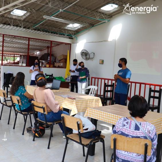 Líderes es un programa de Responsabilidad Social y Empresarial de Energía de Pereira