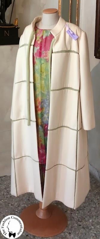 Valentina Cortese - Mostra Milano - Roberto Capucci coat
