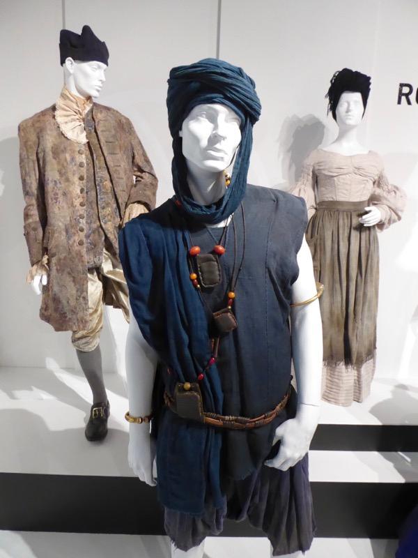 Malachi Kirby Roots Kunte Kinte costume