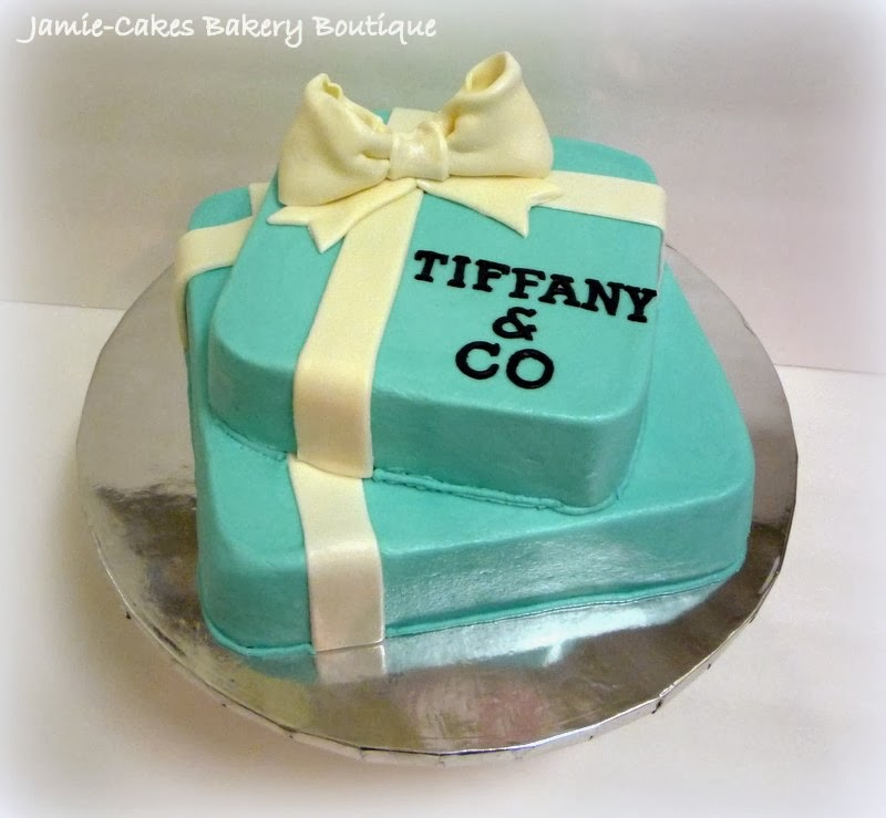 Tiffany Co Birthday Cake Gift