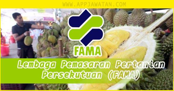 Jawatan Kosong di Lembaga Pemasaran Pertanian Persekutuan (FAMA) - 25 oktober 2018