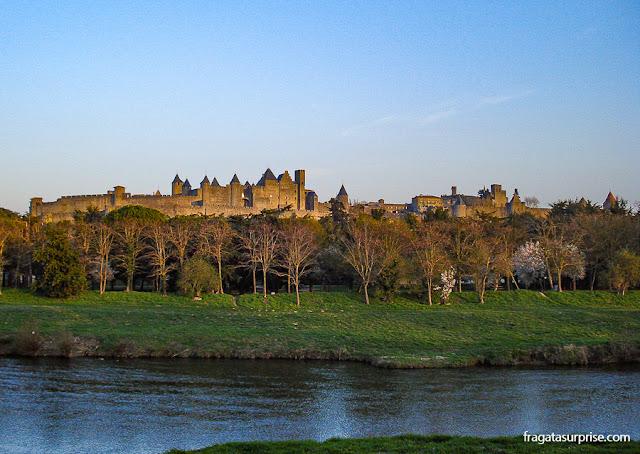 Cidadela medieval de Carcassonne, França