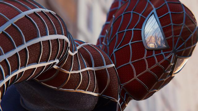 """لعبة Spider-Man تدفع اللاعبين للابداع في تجسيد لحظات الفيلم المميزة, شاهدالان"""""""""""""""