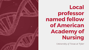 Local professor named as fellow of the American Academy of Nursing