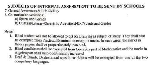 image: BSEH 10th Subjects of Internal Assessment to be Sent by Schools @ Haryana-Education-News.com