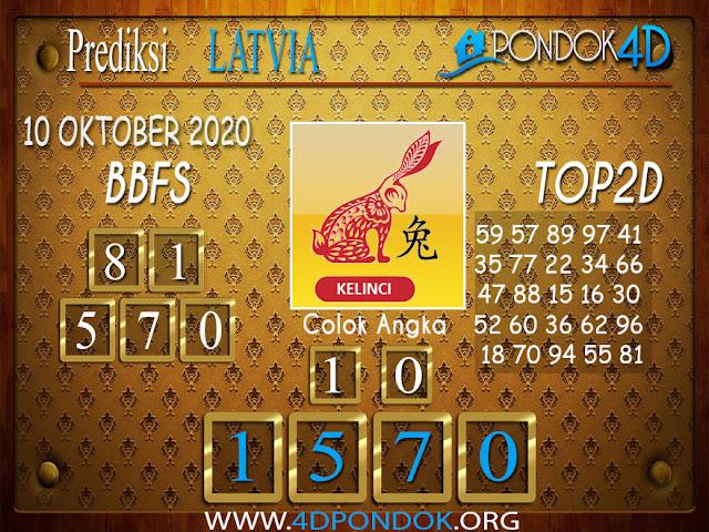 Prediksi Togel LATVIA PONDOK4D 10 OKTOBER 2020