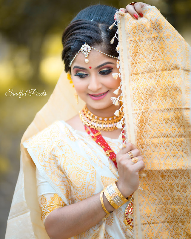 Gorgeous Assamese Bride