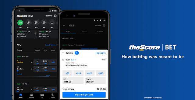 TheScore Rilis Aplikasi Android dan iOS Untuk Taruhan Olahraga Di New Jersey