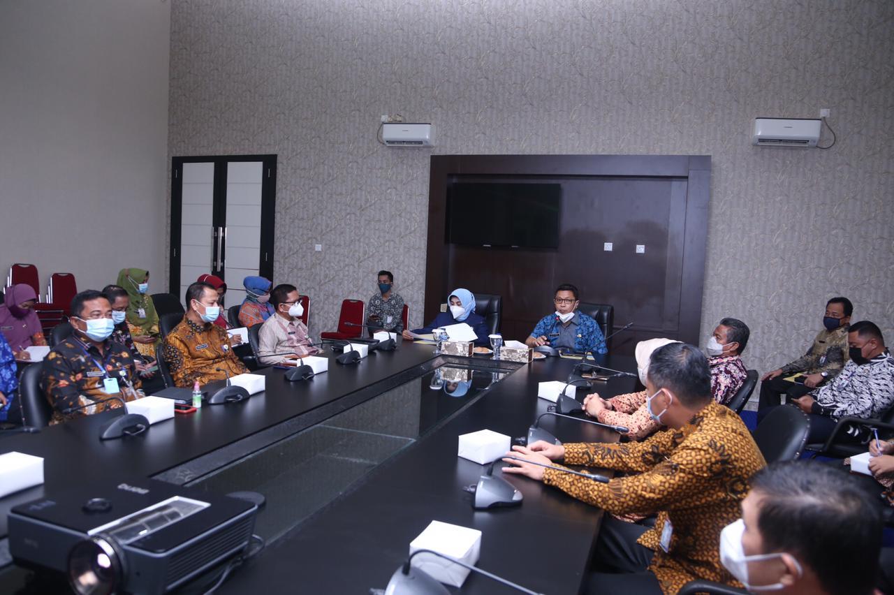 Walikota Pimpin Rapat Kerja Koordinasi Seluruh Sekretaris di Lingkungan Pemko Tanjungpinang