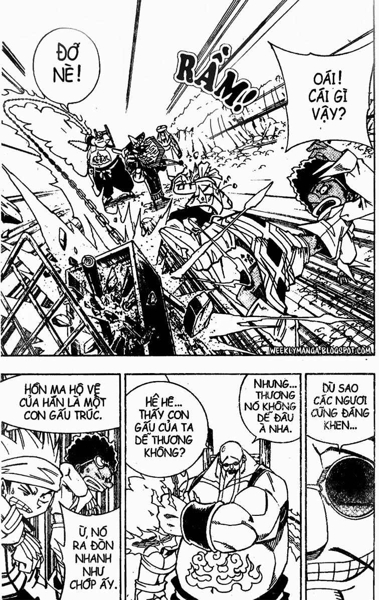 Shaman King [Vua pháp thuật] chap 150 trang 8