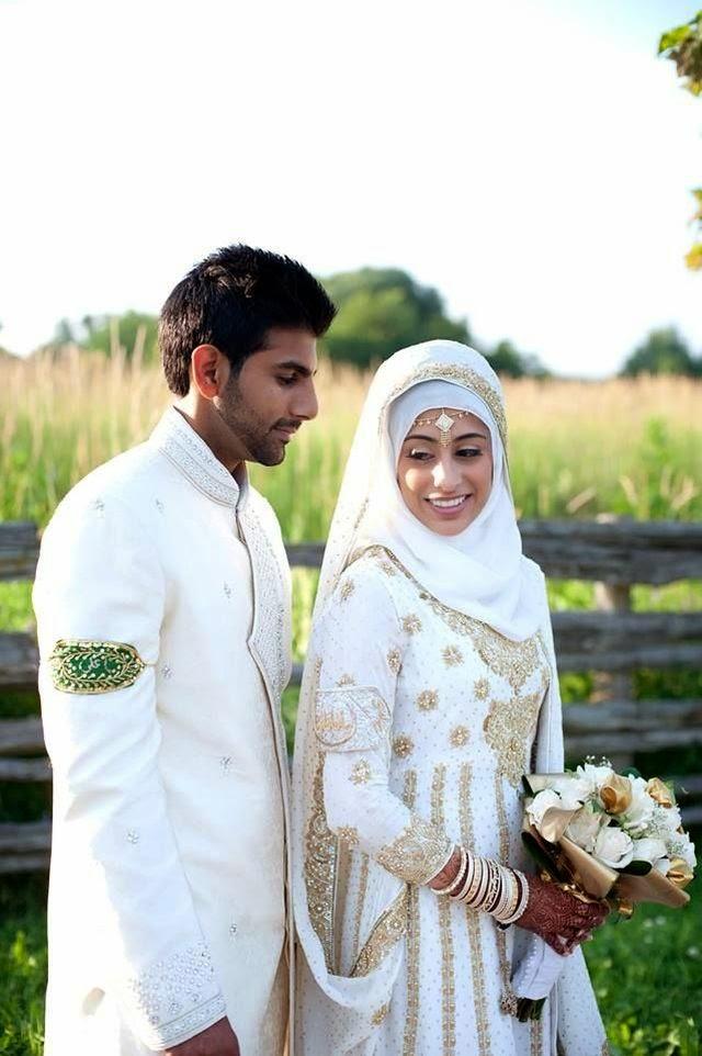 Baju Pengantin Muslim Syari