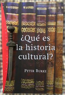 Portada del libro ¿Qué es la historia cultural?, de Peter Burke
