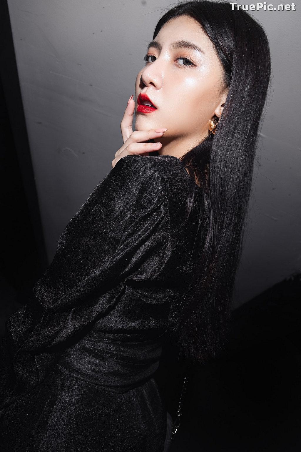 Image Thailand Model - Sasi Ngiunwan - Black For SiamNight - TruePic.net - Picture-11