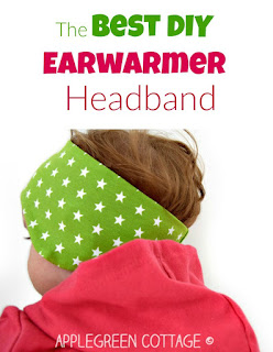 AppleGreen Cottage subscribers get the 3 smallest sizes of my Perfect Earwarmer Headband Pattern (size baby to one year) as a free PDF. This one