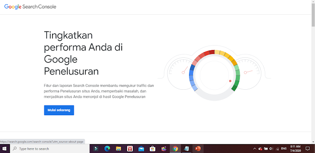 url Google Console
