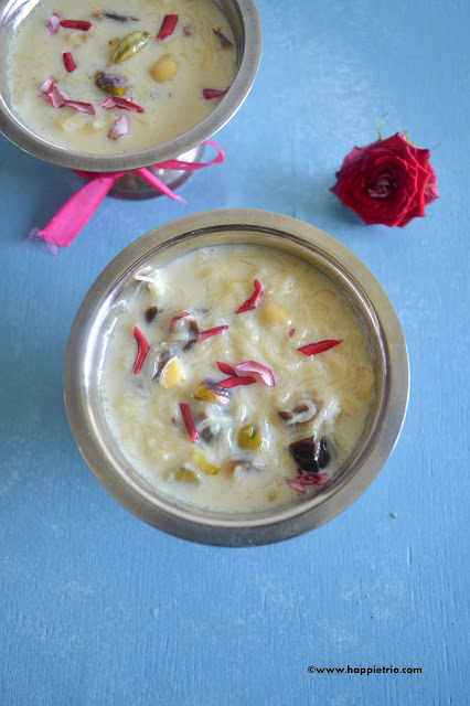 Sheer Khurma Recipe | Sheer Korma Recipe