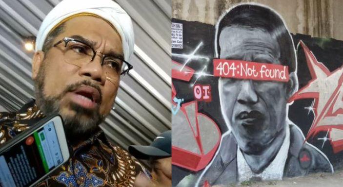 Sebut Banyak Orang Terganggu Kemunculan Mural Jokowi '404 Not Found', Ngabalin: Kalian Punya Logika Gak?!