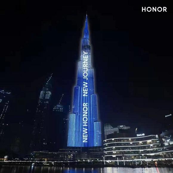 HONOR Magic3 Series Launch Burj Khalifa