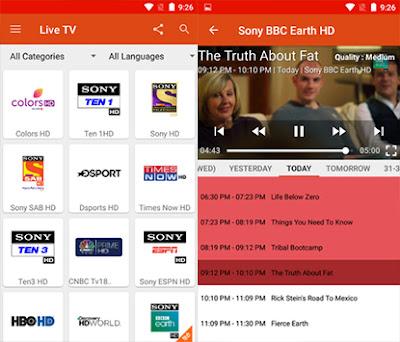 تطبيق Live TV لمشاهدة القنوات العربية و العالمية, تطبيق لمشاهدة قنوات mbc للاندرويد, تطبيق لمشاهدة القنوات للنت الضعيف, تطبيق مشاهدة القنوات الاباحية المشفرة للاندرويد