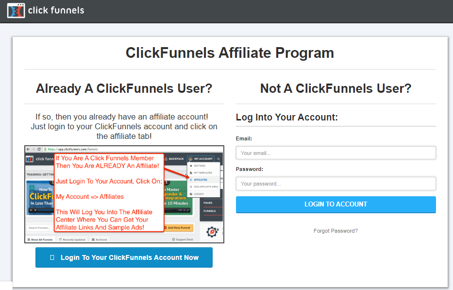 Click Funnels lifetime affiliate