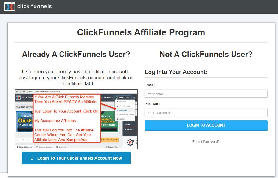 Click Funnels lifetime affiliate