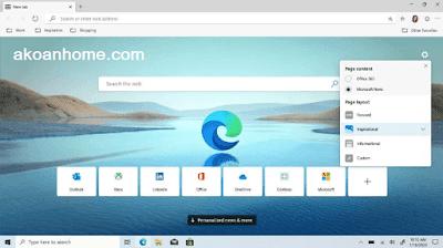 تحميل متصفح مايكروسوفت ايدج كروميوم الجديد Microsoft Edge