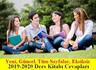 Ders Kitabı Cevapları 2019-2020