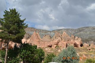 rochas vermelhas - capadocia turquia