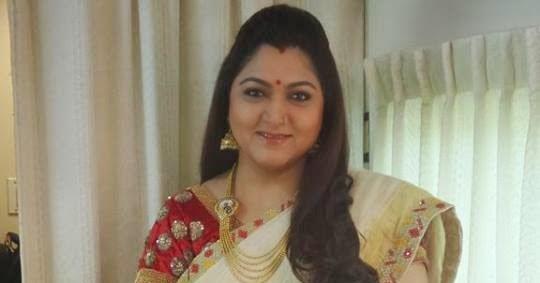 Kushboo Latest Creamish Saree Saree Blouse Patterns