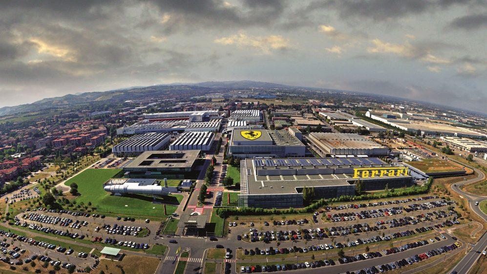 A Ferrari já foi forçada a fechar sua fábrica por causa da propagação da doença