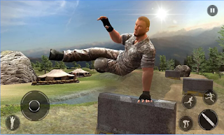 Game Army Commando Survival Island Apk