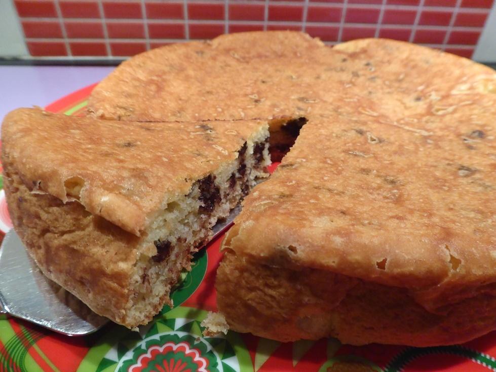 gâteau sans gluten chocolat et noix de coco