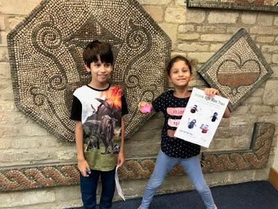 Corinium Museum kids trail, Cirencester