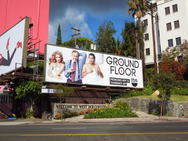Ground Floor season 1 billboard