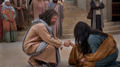 Jesus perdoou uma adulterá