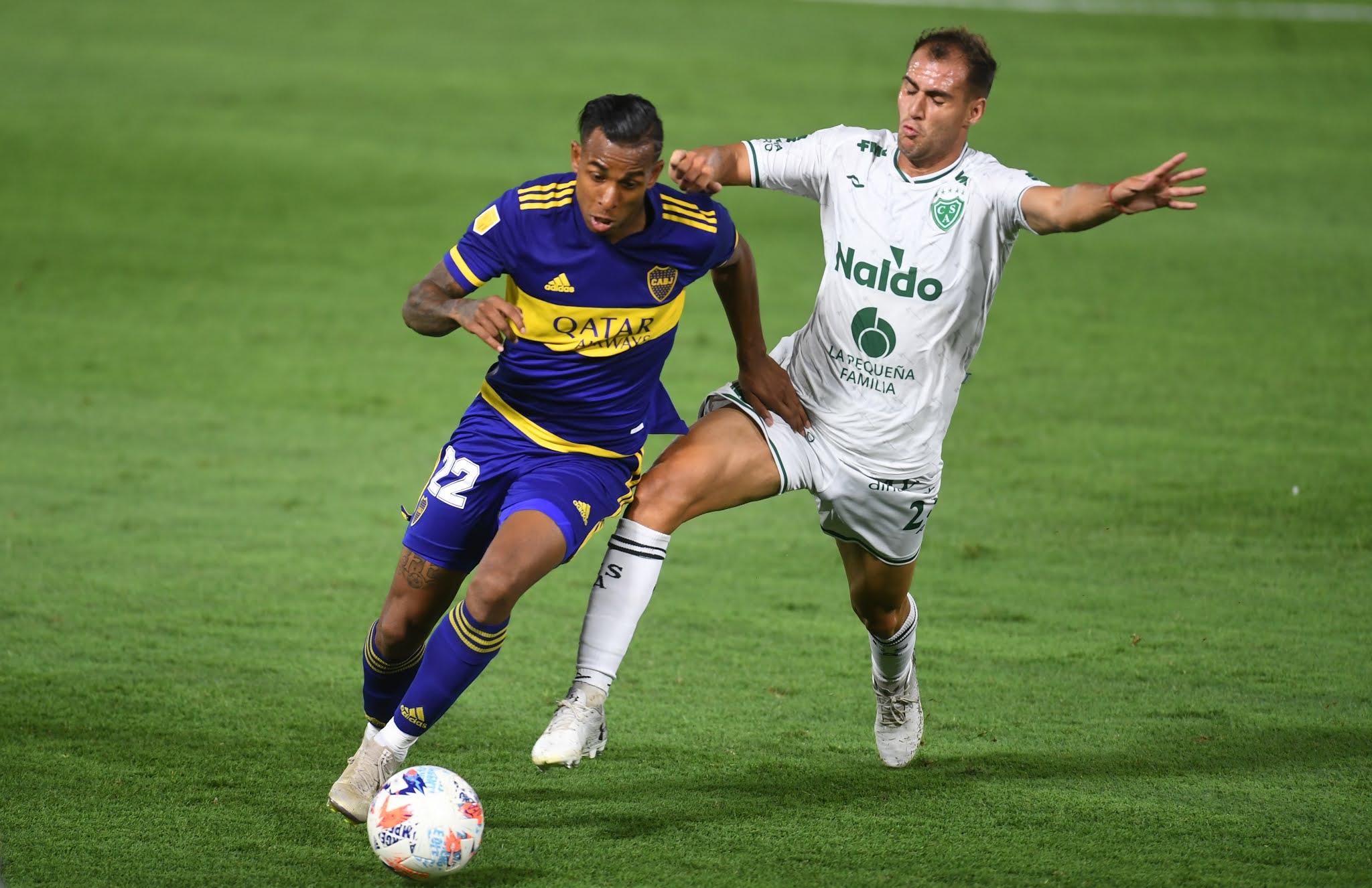 FOTOS: Lo mejor del empate de Boca 1 a 1 con Sarmiento en La Bombonera