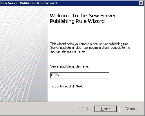 IT owns: Publishing FTPS on TMG 2010