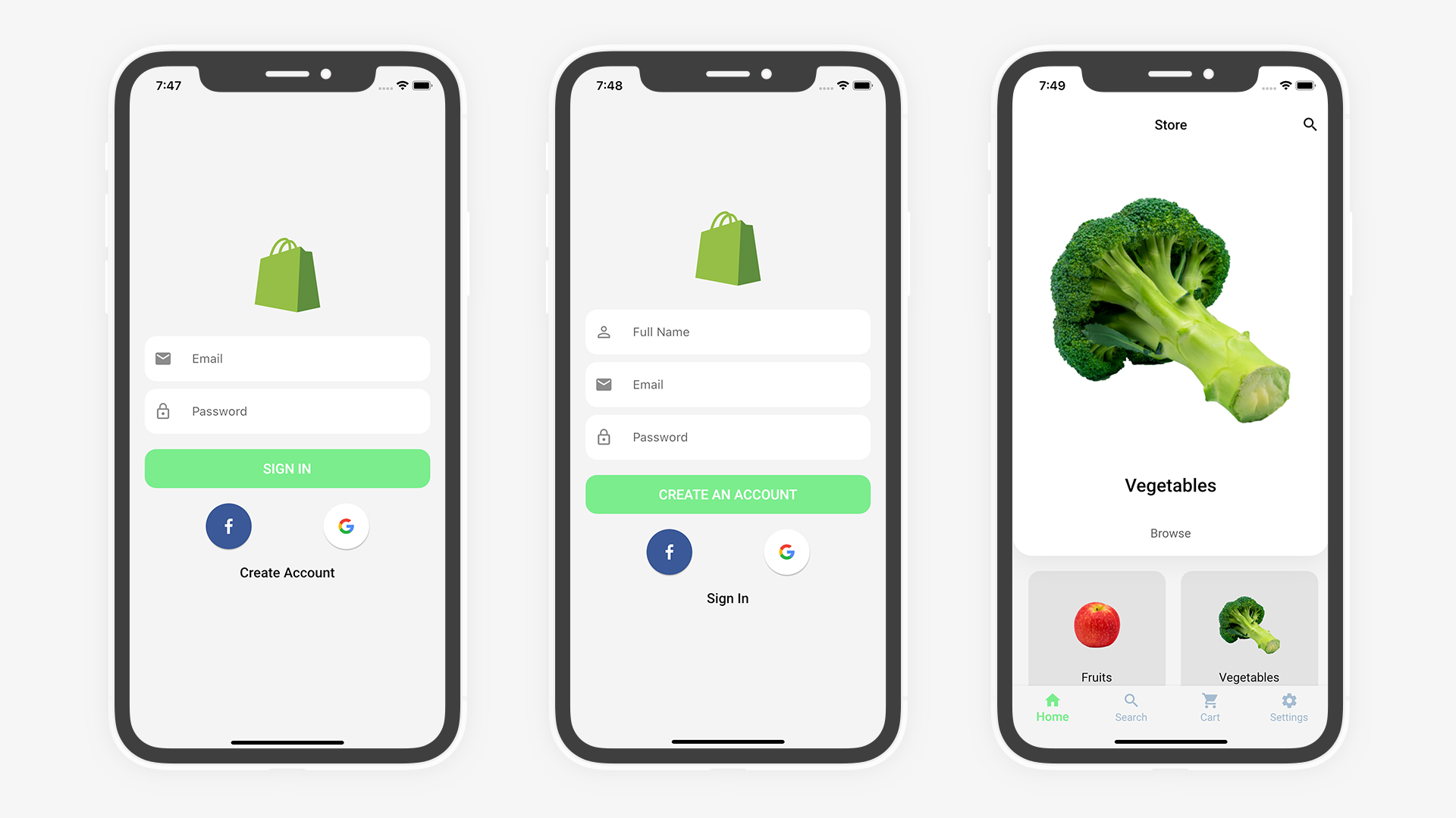 Flutter Grocery: Full Android + iOS eCommerce App - 13