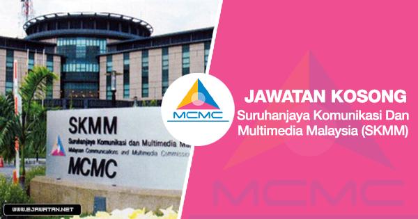 jawatan kosong Suruhanjaya Komunikasi Dan Multimedia Malaysia (SKMM) 2020