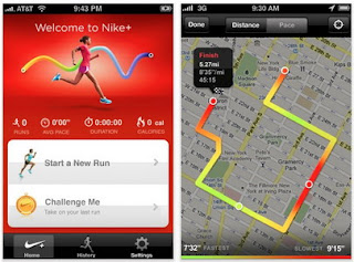 Nike+ GPS iPhone app updated, now uses GPS functionality to track your running