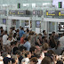 Hellish delays at Barcelona airport as security staff stage strike