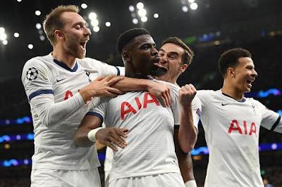 Video Cuplikan Gol: Tottenham Hotspur 4-2 Olympiakos (UEFA Champions League)
