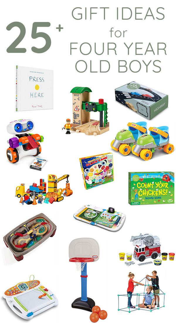 25 gift ideas for four year old boys