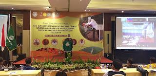 Asisten II Bidang Ekonomi Dan Pembangunan Secara Resmi Membuka FGD DPW APKASINDO Jambi.