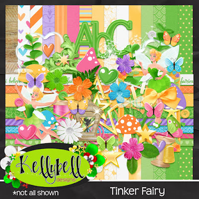 Tinker Fairy - New from Kellybell Designs