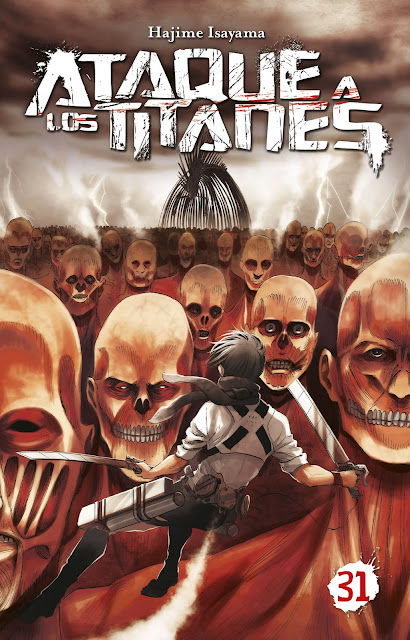 Reseña de Ataque a los Titanes vols. 31 de Hajime Isayama - Norma Editorial